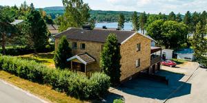 Den här villan i Själevad såldes för 2,2 miljoner kronor. Foto: Svensk Fastighetsförmedling