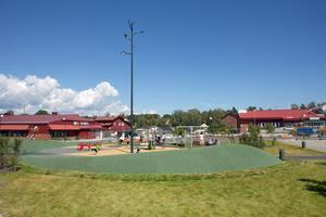 Centrumlyftet i Ösmo innebar bland annat en ny lekpark. De planer som Nynäshamns kommun nu har för centrumområdet och området längs Nyblevägen mot Ösmo IP, är betydligt större.
