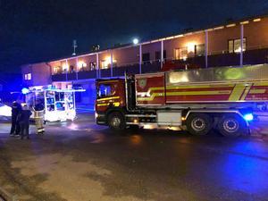 Brand på Raholmsvägen, Alnö.