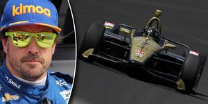 """Fernando Alonso jagar det tredje benet i bilsportens """"triple crown"""" – efter segrar i Monacos GP och Le Mans 24-timmarsrace saknar han bara en Indy 500-vinst – men fick se sig frånkörd av gamle F1-kollegan Marcus Ericsson under första tidsträningen inför nästa helgs race. Foto: Chris Jones/Indycar, Joe Skibinski/Indycar"""