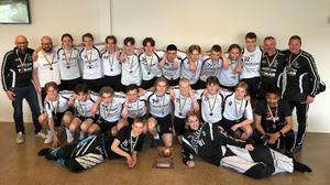 FBC Sundsvalls P16 tog brons i SM för klubblag.