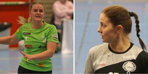 Miranda Sigg och Jessica Eriksson. Två spelare som möts i Slaget om Rimbo på torsdag.