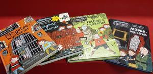 Martin Widmark och Helena Willis toppar alla tio platserna för 2018 mest utlånade barnböcker 6-9 år.
