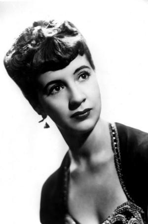 Operasångerskan Kjerstin Dellert på en bild från 1948. Foto: TT