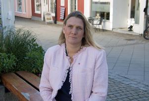 Hanna Stymne Bratt (S) företräder oppositionen i KSON:s förbunddirektion.