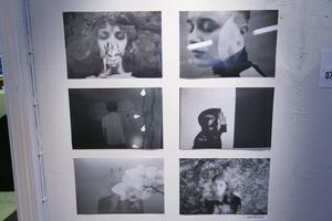 Hanna Westerbergs bildserie med dubbelexponeringar.