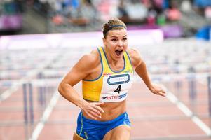 Susanna Kallur slutade femma i sitt heat på OS i Rio de Janerio och åkte därmed ut ur tävlingen. Några veckor senare ställde hon upp i Finnkampen. Bild: Maja Suslin / TT / arkiv