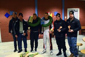 Från vänster: Jonas Magner, Patrik Åkerman, Erik Gustafsson, Mattias Jirvelius, Martin Lundquist och Christian Segerström.