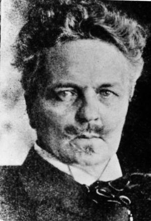 August Strindberg slarvade inte med julen.