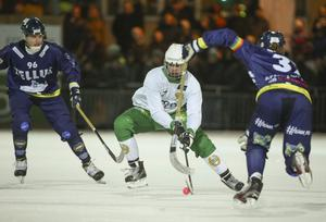 Hammarbys Jesper Jonsson avgjorde annandagsderbyt mot Tellus med sina två mål efter paus.