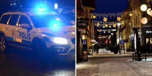 Den åtalade mannen ska bland annat ha kört bland folk i Borlänge centrum.