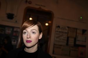 Cissi Wallin är en av dem som lanserar en ny feministisk sajt. Pressbild.