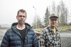 Cai Hedström och Björn Falkeström berättade om motorsportanläggningen i Hedemora som skapade rubriker i hela landet för snart tjugo år sedan.