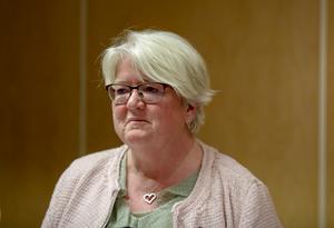 Carina Ohlsson, förbundsordförande. Foto: Christine Olsson/TT