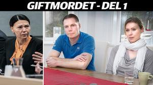 Fredrik Sjöblom och Alexandra Wik berättar i en intervju med Norrtelje Tidning om den fruktansvärda kvällen för två år sedan då deras granne Ove dog. Förgiftad med cyanid av sin sambo.