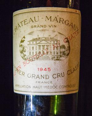 Det här vinet från Bengt Knutssons födelseår, öppnade han på sin 50-årsdag.