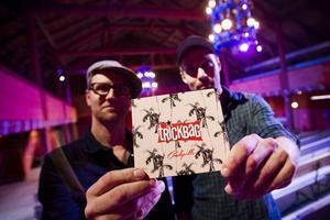 På lördag blir det släppfest för Trickbags nya skiva Candyville på Träteatern i Järvsö.