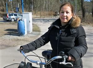 Orietta Orellana kommer att få nära till Björnövägens luftpump när hon börjar jobba på hotellet i Kokpunkten.