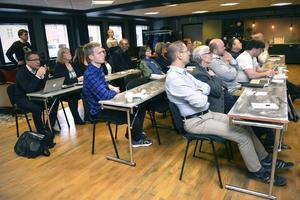 Politiker och tjänstemän samlades på Älvdalens hotell.