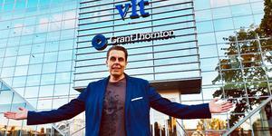 Pasi Hiirikoski, ny redaktionschef för VLT.