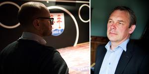 """""""Vad gäller Lars Backlunds aviseringar om att polisanmäla Jörgen så är jag förbryllad. Enligt Lars Backlunds uppgifter i media så har TIK inte lidit någon ekonomisk skada av Jörgens handlande. Det innebär i så fall att Jörgen i nuläget i vart fall inte kan misstänkas för trolöshet mot huvudman"""", skriver advokat Fredrik Lindberg (till höger) till ST."""