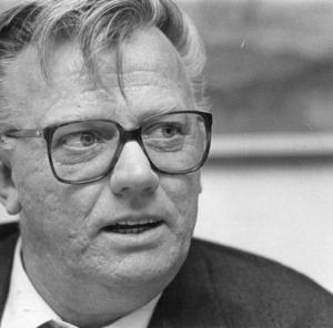 Förre landstingsrådet Ingemar Karlsson blev 82 år. Foto: NA arkiv/Håkan Ekebacke