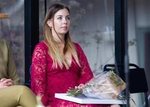 Anna-Maria Jonsson fick årets kulturstipendium på 22 000 kronor.