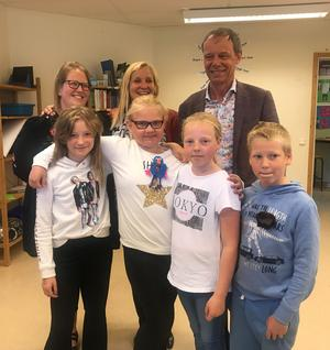 Ylva Skilberg, Annika Setterquist, Christer Fuglesang, Malin Skilberg, Sanna Jakobsson, Ebba Månsson och Mattias Skilberg.