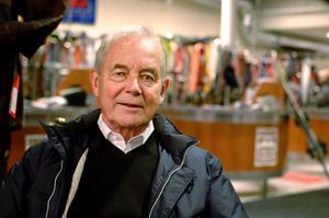 Anders Holmberg var ägare till Vemdalensfjäll med hotell och liftar i Vemdalen och Björnrike innan han sålde vidare verksamheten till Bure, som senare sålde till Skistar. Under tre år jobbade Kjell Andersson som vd under Anders, något han trivdes mycket med. Foto: Jennie-Lie Kjörnsberg