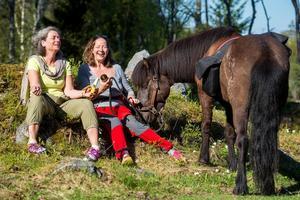 Lena Krantz och Lotte Nord är lokala guider.