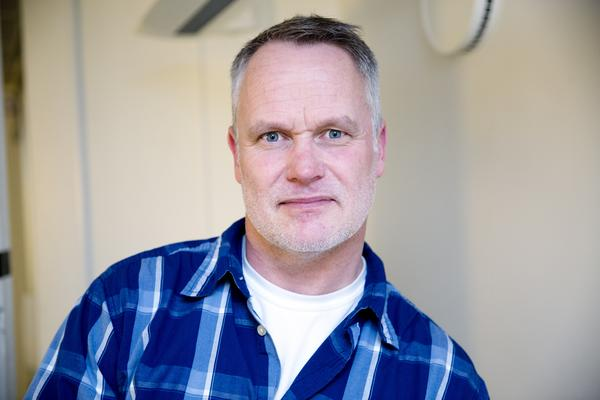 Daniel Lindström vid polisens underrättelsetjänst i Västerås med fokus på inhemsk extremismArkivfoto: Rune Jensen