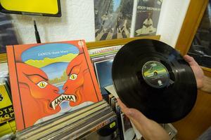 Aunt Marys album Janus är just nu butikens dyraste, med en prislapp på 4500 kronor.