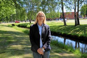 Från 1 juli är Lena Fagerlund ny kommundirektör i Hallsberg. Hon har sedan Torbjörn Dybeck sparkades i våras varit tillförordnad på posten.Arkivfoto: