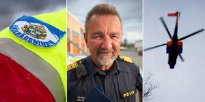 Stephen Jerand, polisens nationella samordnare för fjällräddning. Fotomontage: Fredrik Eliasson/Karin Johansson/Johan Axelsson
