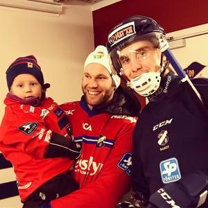 Joel, Calle och Tuomas Määttä. Bild: Privat