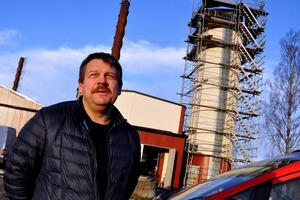 Anders Engdahl är tillförordnad vd på Hedemora Energi. Han ser Arbetsmiljöverkets inspektion som givande.