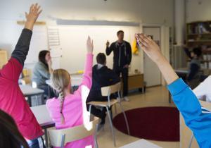 Moderata ungdomsförbundet vill att åtgärder tas för att höja kvaliteten i undervisningen. FOTO: FREDRIK SANDBERG / TT