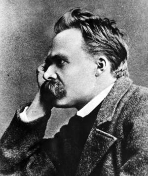 Filosofen Friedrich Wilhelm Nietzsche var en av Cavefors förebilder.