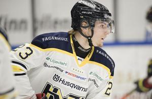 Lias Andersson blir bara bättre och bättre. Mot Skellefteå gjorde han på nytt en stark match som den här gången inte räckte till poäng.