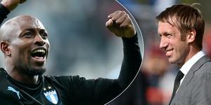 Fouad Bachirou avslöjar att Graham Potters Swansea var intresserade av att värva honom till den engelska ligan. Bild: TT.