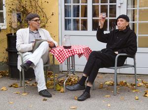 Cobbe Lindberg och Mats Nolemo som Konstnärsvännen och Ivan Aguéli.