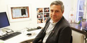 Kommunalråd Lars Isacsson har varit ordförande i kommunstyrelsen sedan 2010.