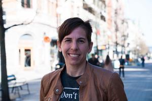 Sarah Elnicky var på väg till Japan – men hamnade i Sundsvall och SDFF i stället.