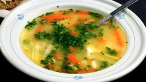 Soppa på menyn kan vara lite klent till lunch för yrkesinriktade linjer, anser Anny.