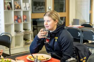 Brynäs backstjärna Maja Nylén-Persson konstaterar att det är solklart att målet är att nå A-VM.