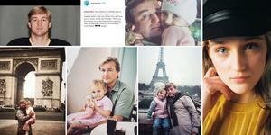 Alexandra Salomatin var 15 år när Alexei dog. På sin Instagram har hon lagt ut flera bilder på sin pappa. Foto: Privat.
