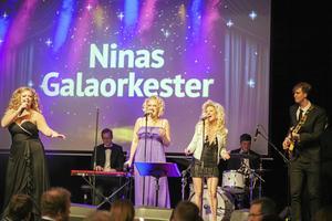För två år sedan var det Ninas Galaorkester som stod för underhållningen under kvällen. Foto: Sara Lansgren