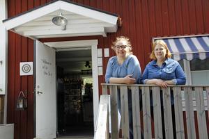 Annika Ahlén och Erica Skerved har drivit kaféet Två Skator sedan mars 2018.
