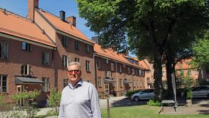 Mimers vd Mikael Källqvist i kvarteret Josef.