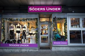 Underklädesbutiken Söders Under ligger på Söder i Gävle.